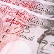 Stock Photo: Fifty Pound Notes