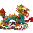 Royalty-Free Stock Photo: The Asian dragon