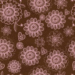 Royalty-Free Stock Векторное изображение: Floral seamless pattern