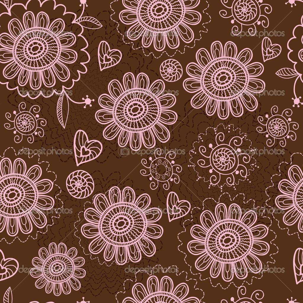 Floral seamless pattern  — Stock Vector #4151682