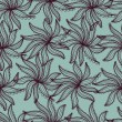 Royalty-Free Stock Vector Image: Image of seamless flower pattern