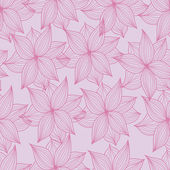 Image of seamless flower pattern — Stock Vector
