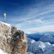 Zugspitze, Alps, Germany — Stock Photo