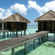 Water bungalows — Stock Photo #4220555