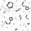 Chemical background — Vettoriale Stock #4158676