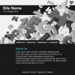 Website template - Stockvektor
