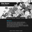 Website template - Stock vektor