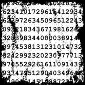 Zahlen-hintergrund — Stockvektor