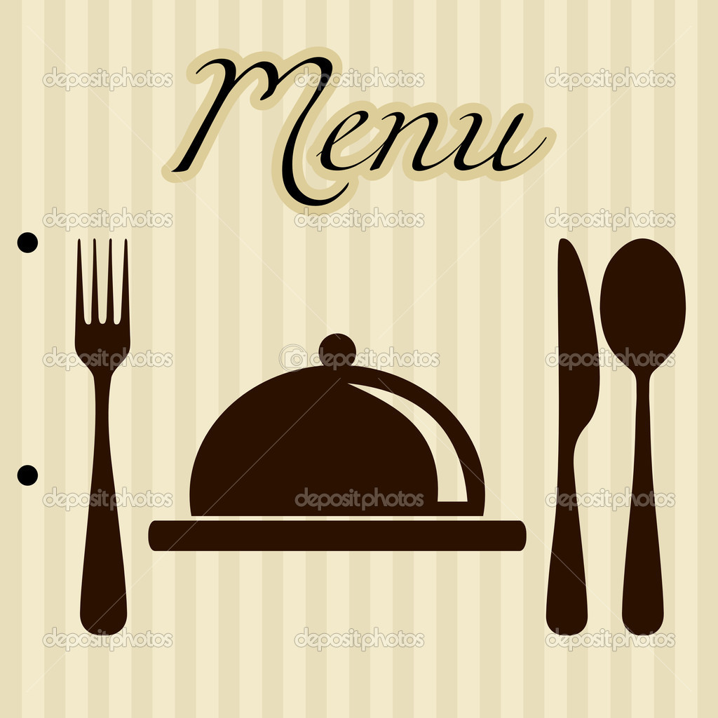 Menu Background Stock Vector 169 Zphoto 4158656