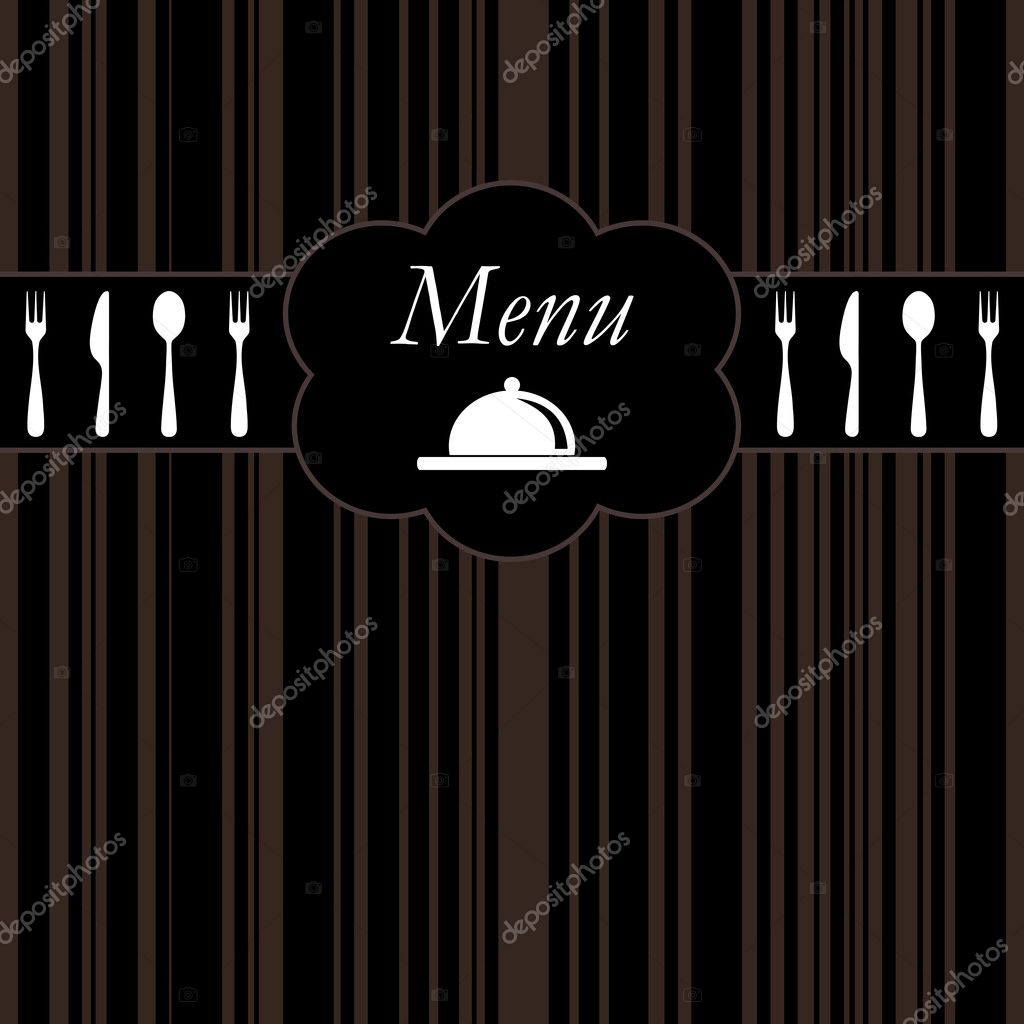 Restaurant menu background — Stock Vector #4159852