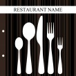 Restaurant design - Stock Vector