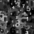 Numbers — Stockvektor #4160419