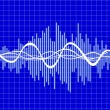 Royalty-Free Stock Vectorafbeeldingen: Music wave