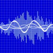 Royalty-Free Stock Imagen vectorial: Music wave