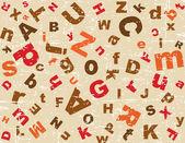 Alphabet background — Stock Vector