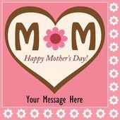Happy Mother's Day — Stockvektor