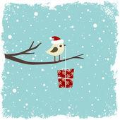 Cartão de inverno — Vetorial Stock