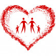 Royalty-Free Stock Imagen vectorial: Family