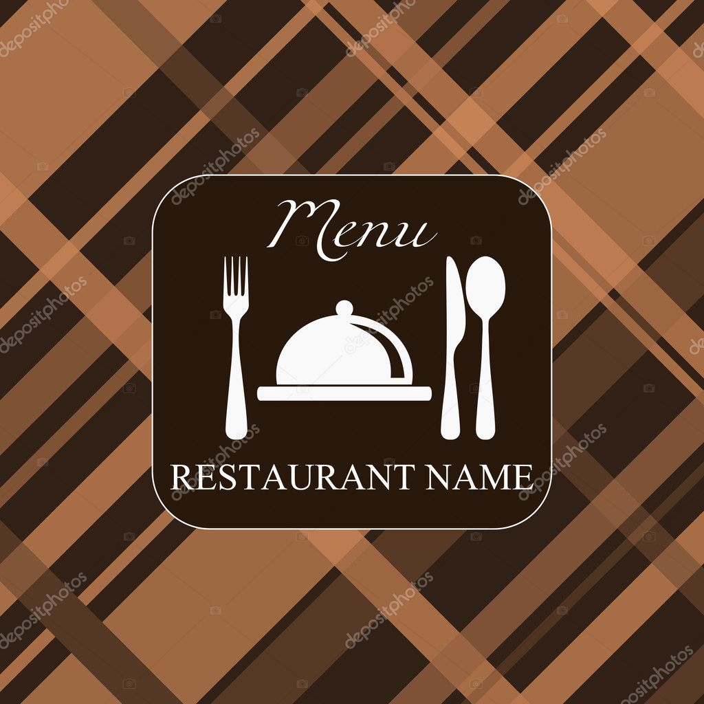 Vector. restaurant menu background — Stok Vektör #5089687