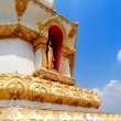 Buddha in the temple of Thailand. - Stock Photo