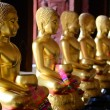 Stock Photo: Buddhimages in Thai temples.