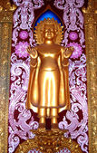 Buddha in the temple of Thailand. — Stock Photo