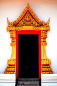 Thai temple gate. — Stock Photo