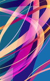 Lines. Abstract vector background — Vetorial Stock