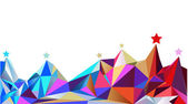 Color montains. Vector illustration — Vector de stock