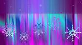 北极光 — 图库矢量图片