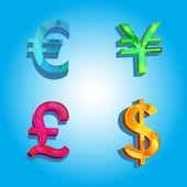 Dinero del mundo — Vector de stock