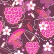 Beautiful floral texture - Stock Vector