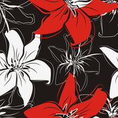 Beautiful floral textue — Stock Vector
