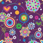 Tendencia hippie — Vector de stock