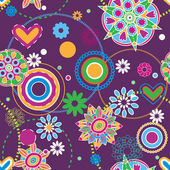 Tendencia hippie — Vector de stock