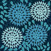 Belle texture floral — Vecteur
