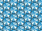 与钻石的无缝纹理 — 图库矢量图片