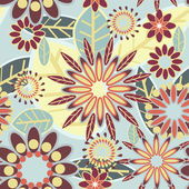 Beautiful floral texture — Stock Vector