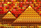 Zlatá piramides — Stock vektor