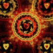 Abstract vector valentine background — Stock Photo #5025738