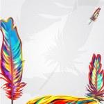 Постер, плакат: Bright feathers