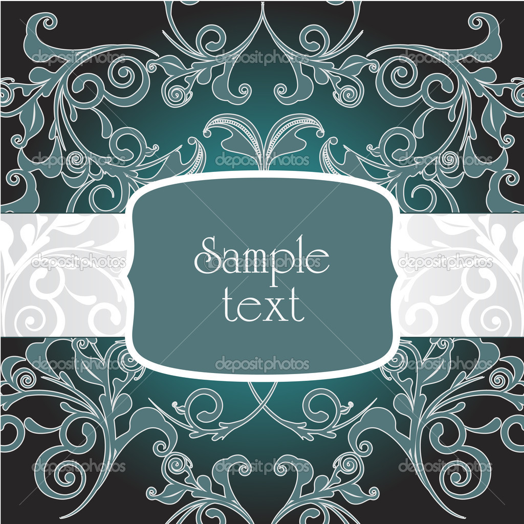 Classic decorative vector frame — Stock Vector #5194855