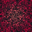Royalty-Free Stock Vektorfiler: Red damask