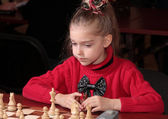 Chess playing — Stock Photo