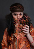 Gypsy woman — Stock Photo