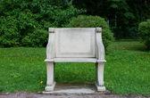 Stone chair — Stock Photo