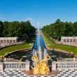 Royalty-Free Stock Photo: Lower park of the Peterhof