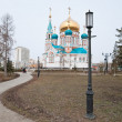 Assumption Cathedral in Omsk - Stock Photo