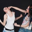 Royalty-Free Stock Photo: Fighting girls