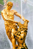Samson statue — Stock Photo